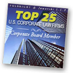 Top 25 U.S. Corporate Law Firms